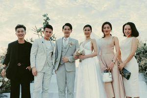 Đông Nhi gợi cảm bên Ông Cao Thắng trong đám cưới tại Phú Quốc
