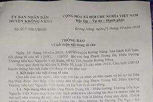 Trường Nguyễn Viết Xuân vận động phụ huynh đóng hơn 80 triệu dịp 20/11