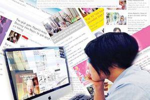 Chấn chỉnh tình trạng 'báo hóa' trang thông tin điện tử tổng hợp