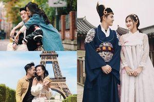 Trong showbiz Việt chẳng có mấy cặp đôi cùng nhau nắm tay du lịch muôn nơi suốt một thập kỉ như Đông Nhi và Ông Cao Thắng