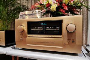 Ảnh thực tế đầu tiên của E-800, ampli Class A kỷ niệm 50 năm được fan Accuphase mong chờ từng ngày