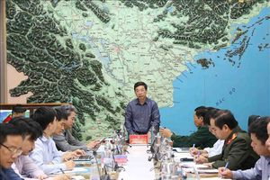 Các địa phương thực hiện nghiêm Công điện của Thủ tướng về ứng phó với bão số 6