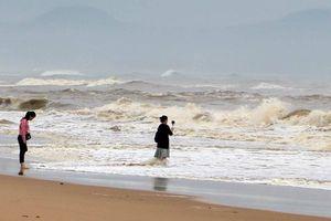 Phú Yên, Khánh Hòa đồng loạt cấm biển, ráo riết kêu gọi tàu vào bờ
