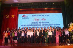 Phát huy truyền thống vẻ vang 40 năm xây dựng Trường Đại học Luật Hà Nội
