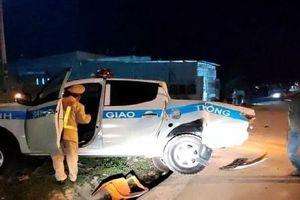Kết quả kiểm tra nồng độ cồn của tài xế xe tải húc văng xe tuần tra CSGT