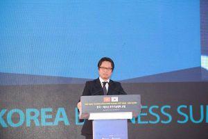 TS Vũ Tiến Lộc: 'Cùng với những người bạn Hàn Quốc, người Việt Nam sẽ viết nên kỳ tích sông Hồng'