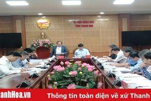 Đoàn công tác của Bộ Tài chính làm việc với UBND tỉnh về công tác, phòng chống thiên tai năm 2019