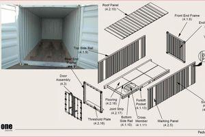 Thùng container cấu tạo như thế nào?
