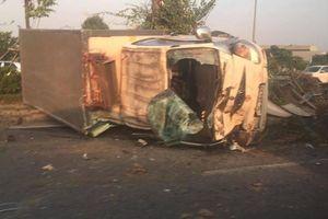 Hai ngày, hai vụ lật xe tải trên đường Võ Nguyên Giáp