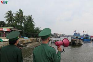 Ứng phó bão số 6: Đảm bảo an toàn cho người dân và tàu thuyền ở Lý Sơn