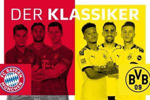 Đội hình dự kiến trận Bayern Munich - Dormund: Siêu kinh điển nước Đức
