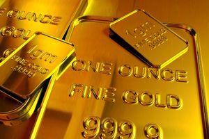 Giá vàng xuống mức thấp nhất hai tháng