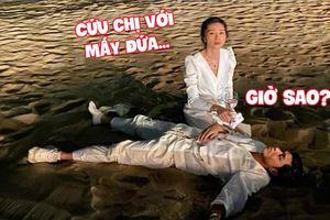 Trên đời này không thiếu những đôi bạn như Jun Phạm - Ngô Thanh Vân khi đi quẩy: Người thì say bí tỉ, kẻ ngơ ngác không biết làm sao