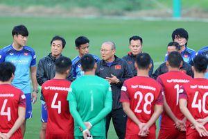 Thầy Park loại 5 cầu thủ khỏi ĐT Việt Nam trước trận gặp UAE và Thái Lan