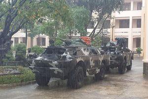 Việt Nam điều xe thiết giáp, sẵn sàng ứng cứu với bão số 6