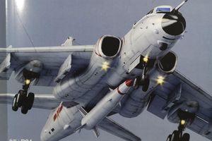 Lộ diện ảnh máy bay H-6N của TQ mang tên lửa đạn đạo