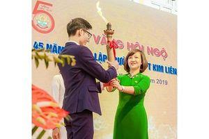 Kỷ niệm 45 năm ngày thành lập Trường THPT Kim Liên