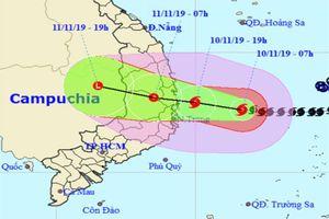 Cấm biển, di dân, dừng tất cả cuộc họp khẩn trương ứng phó bão số 6