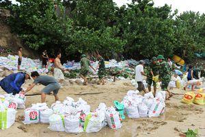 Phú Yên sơ tán khoảng 36.000 người dân vùng xung yếu trước khi bão số 6 đổ bộ