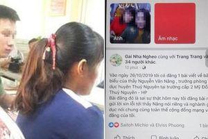 Nữ phụ huynh đưa tin sai, xuyên tạc lời ông Trưởng phòng giáo dục trên mạng