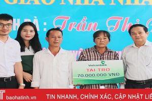 Đoàn ĐBQH Hà Tĩnh phối hợp trao nhà nhân ái cho hộ nghèo