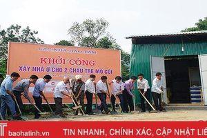 Xây nhà cho 2 con thơ của cô giáo mầm non tử nạn giao thông ở Hương Sơn