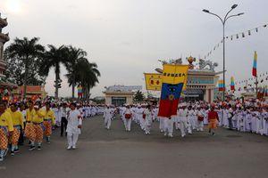 Tây Ninh: Lễ kỷ niệm 95 năm hoằng khai Đại Đạo Tam Kỳ Phổ Độ