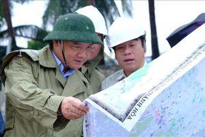 Lãnh đạo tỉnh Khánh Hòa kiểm tra công tác chuẩn bị ứng phó với bão số 6