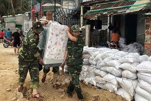 Bão số 6 gây mưa to đến rất to tại các tỉnh từ Quảng Ngãi tới Khánh Hòa