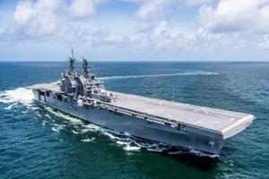 Tripoli LHA-7 mạnh hơn nhiều tàu tấn công đổ bộ Nga