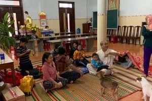 Gần 10.000 dân Bình Định được đưa đến nơi an toàn trước khi bão số 6 đổ bộ