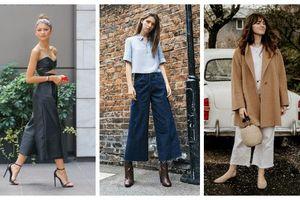Culottes - chiếc quần có thể cân hết mọi khuyết điểm của đôi chân
