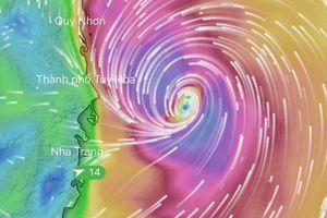 Bão số 6 đổ bộ đất liền các tỉnh Bình Định - Khánh Hòa, gió giật cấp 11