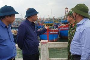 Bộ trưởng Bộ NN và PTNT kiểm tra công tác phòng chống bão số 6