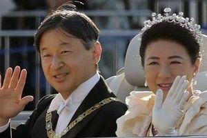Đẹp lộng lẫy lễ diễu hành đăng quang của Nhật hoàng Naruhito