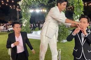 Hậu 'siêu đám cưới' - chuyện bây giờ mới kể: Trấn Thành dùng 'thủ thuật' để trốn uống nhưng bị Jun Phạm bắt tại trận