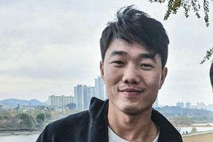 Nụ cười lạc quan của Xuân Trường ở Hàn Quốc