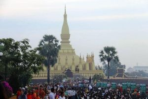 Lễ hội Thạt Luổng 2019 tại Lào