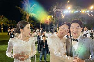 Bất ngờ vị khách phải ngồi trông đồ suốt tiệc cưới Đông Nhi - Ông Cao Thắng mà không được quẩy