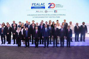 Việt Nam tham dự Hội nghị Bộ trưởng Ngoại giao FEALAC IX