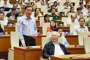 Quốc hội biểu quyết Nghị quyết về kế hoạch phát triển kinh tế-xã hội năm 2020