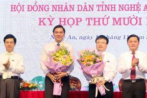 Bầu bổ sung nhân sự mới 3 tỉnh Nghệ An, Quảng Ngãi và Thái Bình