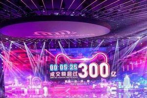 Alibaba 'bỏ túi' 31 tỷ USD trong ngày Lễ độc thân 11/11