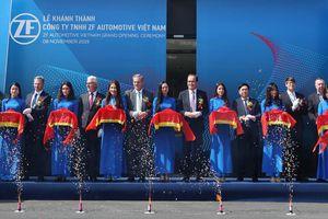 Hãng ZF làm hộp số xe ô tô VinFast khánh thành nhà máy đầu tiên ở Việt Nam