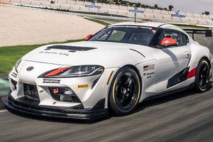'Soi' xe đua Toyota GR Supra GT4 mới sắp bán ra thị trường
