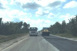 Sắp hoàn thành tuyến QL60 từ Rạch Miễu đến Cổ Chiên