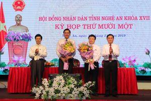 Tỉnh Nghệ An có hai tân Phó chủ tịch UBND tỉnh