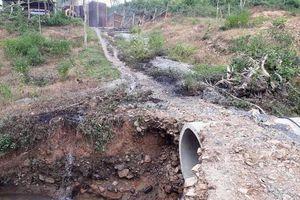 Quảng Trị: Lập biên bản trạm trộn bê tông nhựa để tràn dầu thải ra thượng nguồn sông Hiếu