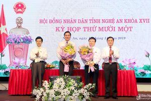 Chân dung 2 tân Phó Chủ tịch UBND tỉnh Nghệ An Bùi Đình Long và Hoàng Nghĩa Hiếu