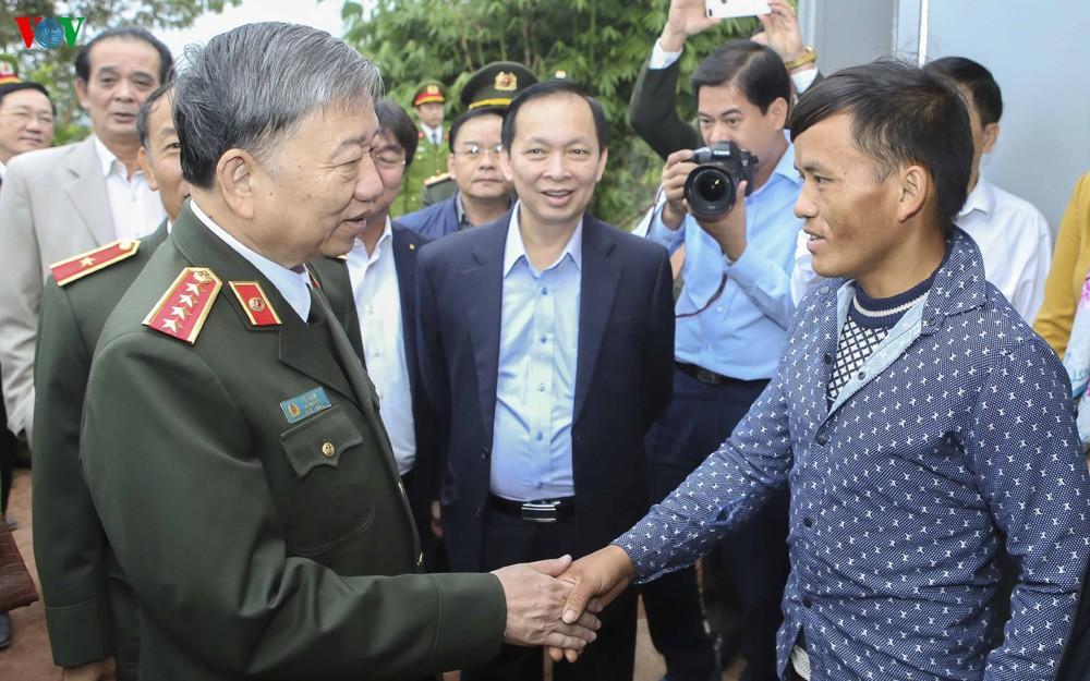 Đại tướng Tô Lâm dự Ngày hội đại đoàn kết tại Mường Nhé, Điện Biên